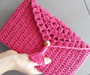 Bolsa de Crochê: Muita inspiração e Passo a Passo