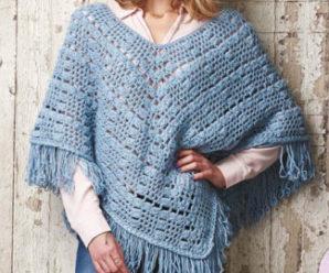 Poncho de Crochê: Diversos Modelos, Ideias e Passo a Passo