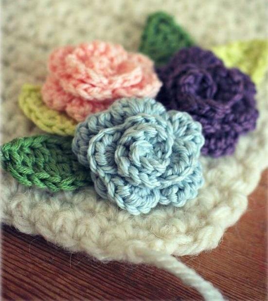 Flor De Crochê Passo A Passo E Inspiração Em 2019