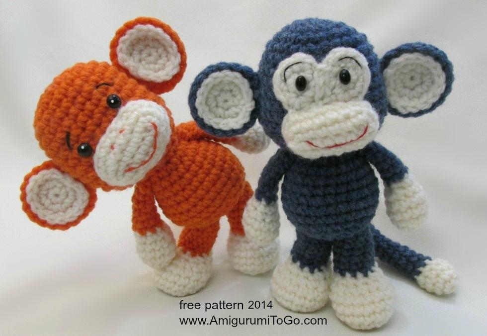Amigurumi Macaco em Crochê