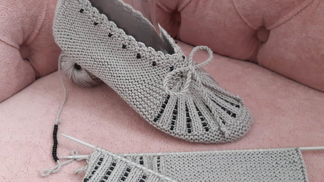 Sapato de Tricô Feminino Inverno