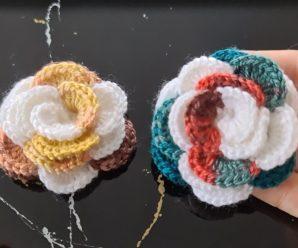 Ponto de Crochê Flor