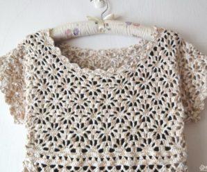 Blusas de Crochê Estilosas – Inspiração #2