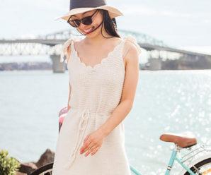 Vestido de Crochê Para Verão – Inspiração #1